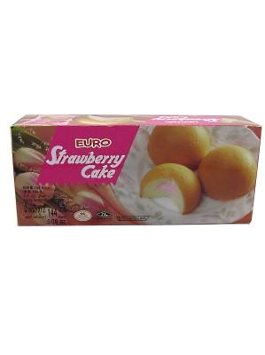 Strawberry Cakes 144g - EURO