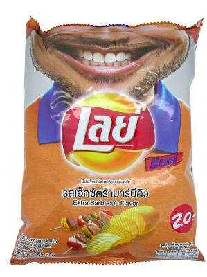 Potato Chips - Extra Barbeque Flavour - LAY'S