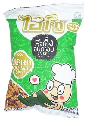 Fried Crickets - Nori Seaweed - HISO