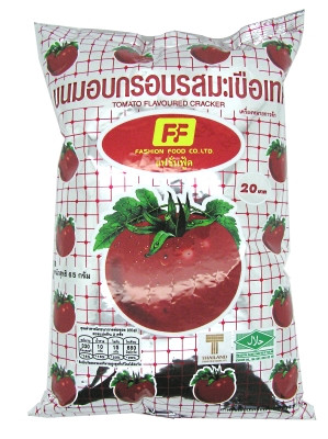 Tomato-flavoured Cracker Snack - FASHION FOOD