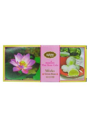 Thai Bean Cake - Green Bean - KHANOM MAE OEY