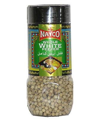 Whole White Pepper 100g - NATCO