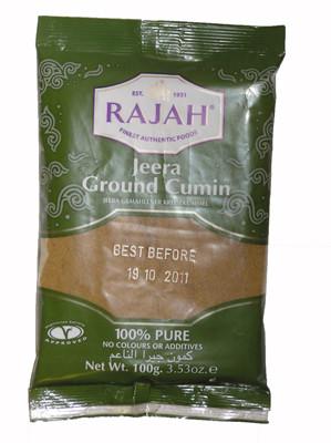Ground Cumin 100g - RAJAH