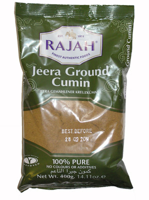 Ground Cumin 400g - RAJAH