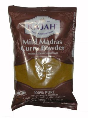 Mild Madras Curry Powder 400g - RAJAH