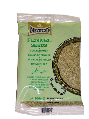 Fennel Seeds 100g (refill) - NATCO
