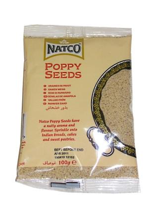 White Poppy Seeds 100g (refill) - NATCO