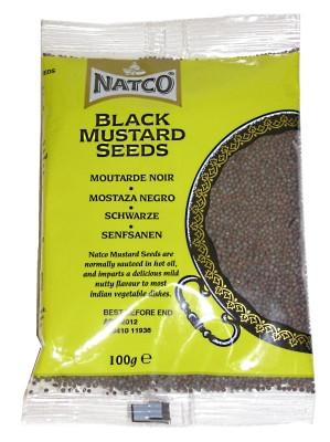 Black Mustard Seeds 100g (refill) - NATCO
