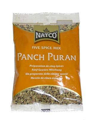 Indian Five Spice Mix (!!!!Panch Puran!!!!) 100g (refill) - NATCO