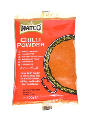 Chilli Powder 100g (refill) - NATCO