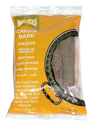 Cassia Bark 50g (refill) - NATCO