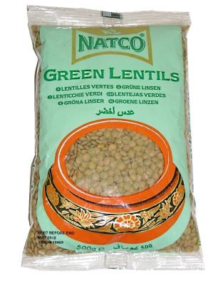 Green Lentils 500g - NATCO