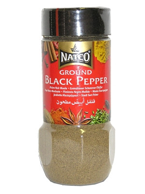 Ground Black Pepper 100g - NATCO