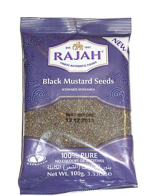 Black Mustard Seeds 100g - RAJAH