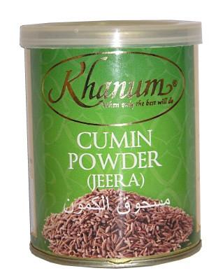 Cumin (Jeera) Powder 100g (tin) - KHANUM