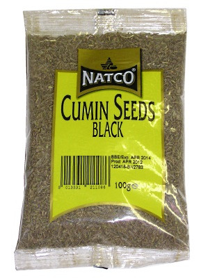 Black Cumin Seeds 100g - NATCO