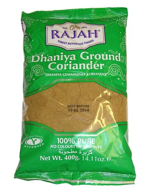 Ground Coriander 400g - RAJAH
