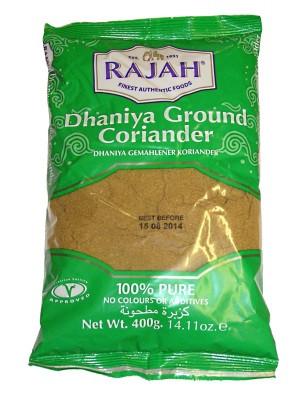 Ground Coriander 400g - RAJAH