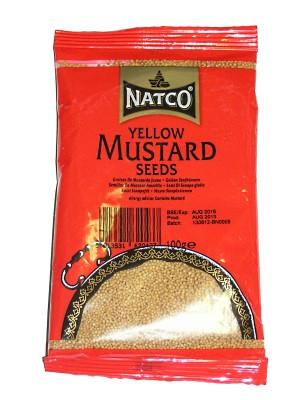 Yellow Mustard Seeds 100g (refill) - NATCO