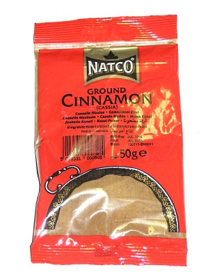 Ground Cinnamon 50g (refill) - NATCO