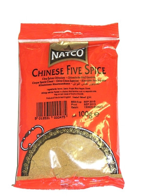 Chinese Five Spice 100g (refill) - NATCO