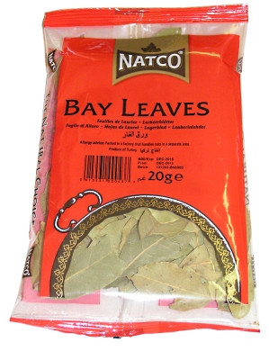 Dried Bay Leaves 20g (refill) - NATCO
