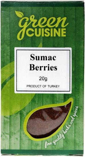 Ground Sumac 20g - GREEN CUISINE