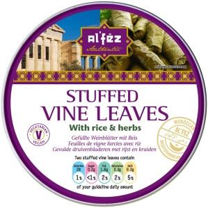 Stuffed (Rice & Herbs) Vine Leaves - AL'FEZ