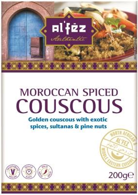 Moroccan Spiced Couscous - AL'FEZ