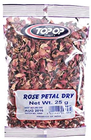 Dried Rose Petals 25g - TOP-OP