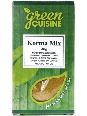 Korma Mix 40g - GREEN CUISINE