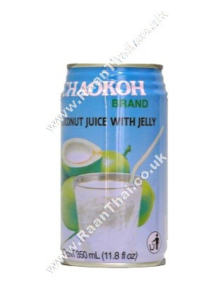Coconut Juice with Jelly 350ml - CHAOKOH