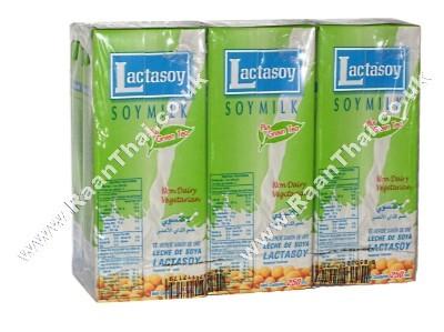 Sweetened Soy Milk - Green Tea Flavour - LACTASOY