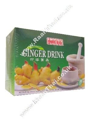 Instant Ginger Drink - 10 Sachets - GOLD KILI