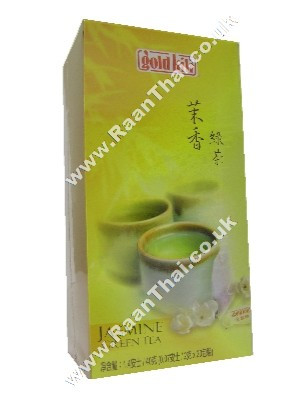 Jasmine Green Tea Bags - GOLD KILI