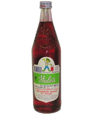 Concentrated Flavoured Syrup - Strawberry Flavour - HALES