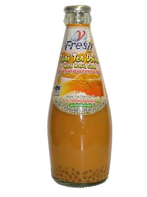 Thai Tea Drink with Basil Seed - V-FRESH