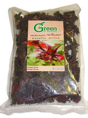 Dried Roselle 100g - DR GREEN