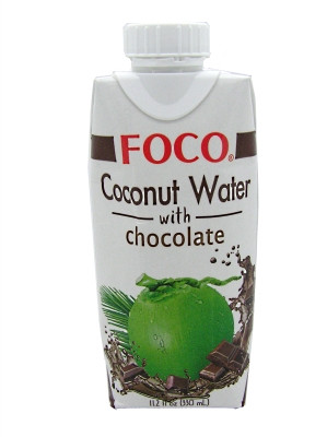 Coconut Water with Chocolate - FOCO