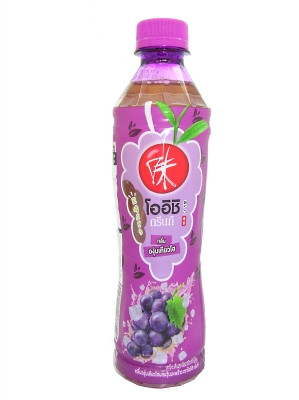 Japanese Green Tea - Grape Flavour with Coconut Gel - OISHI