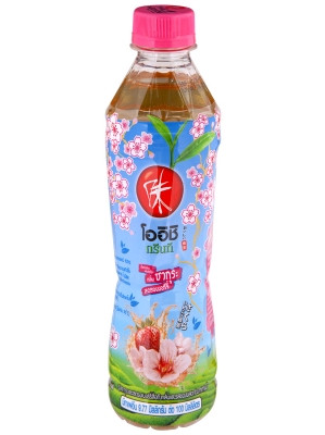 Japanese Green Tea - Sakura Strawberry Flavour - OISHI