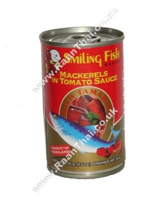 Mackerel in Tomato Sauce with Tamarind - SMILING FISH