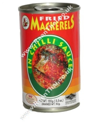 Fried Mackerel in Chilli Sauce -  SMILING FISH