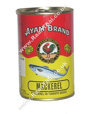 Mackerel in Tomato Sauce 400g - AYAM