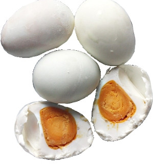 Salted Duck Eggs (cooked) - 3pcs
