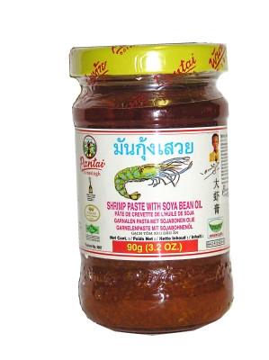 Shrimp Paste with Soya Bean Oil 90g - PANTAI