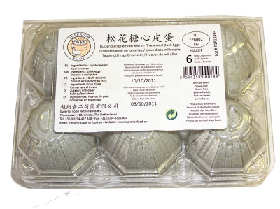 Preserved Duck Eggs (x6) - Superior Food