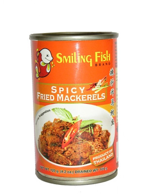 Spicy Fried Mackerel - SMILING FISH