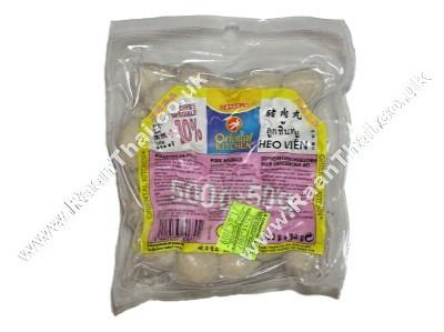 Pork Meatballs (!!!!Luk Chin Moo!!!!) 500g - ORIENTAL KITCHEN