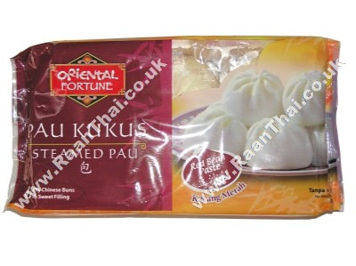 Steamed Pau with Red Bean Paste - ORIENTAL FORTUNE/KART'S